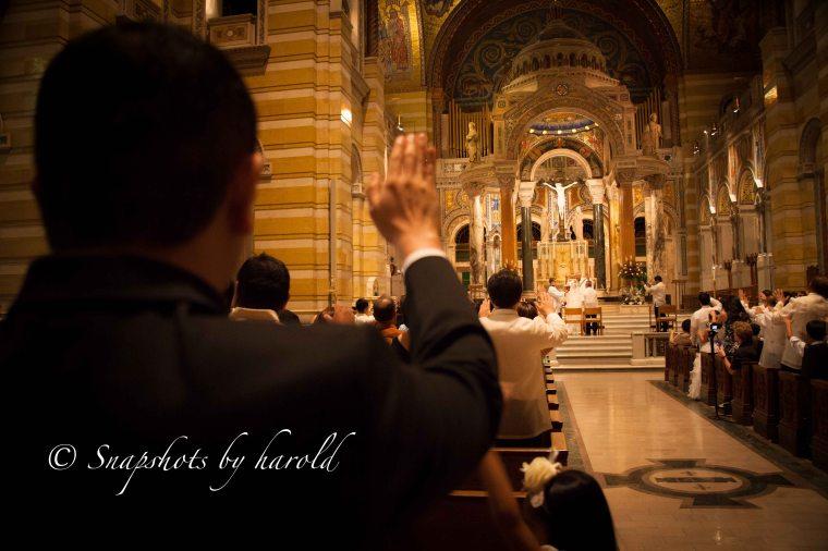 Copyright Harold Calderon- Church, Grace & Raymund Wedding; June 26, 2015 010
